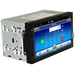 1024*600 Dual Din Android Double Din Radio 2GRAM+16GROM For Kia