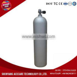 Hot Sale in America 12L-20Mpa 200 Bar High Pressure Aluminum Diving Cylinder Tank with Diving Valve