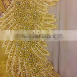 SWAALI LACE BLOUSE FABRICS FOR LADIES TOP MADE IN INDIA DESIGN BY HAND 2016 DESIGN 9
