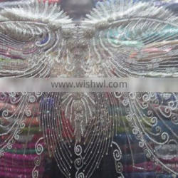 SWAALI LACE BLOUSE FABRICS FOR LADIES TOP MADE IN INDIA DESIGN BY HAND 2016 DESIGN 10