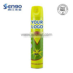 China Africa NO.1 odorless indoor spray aerosol insecticide for home