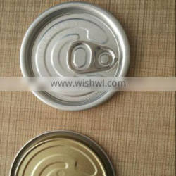 #209 diam 62.5mm tin can easy open ends for beverage can or food can