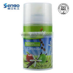 Aerosol automatic insecticide spray with citronella smell