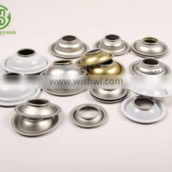 Cone and Dome for Tinplate aerosol cans diameter 52mm Top and bottom for air freshener