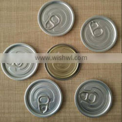 #209 tin can easy open ends for beverage can or food can