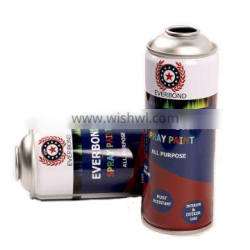high Top and bottom for Tinplate aerosol cans diameter 65mm butane gas can