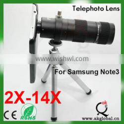 Competitive 2-14X Optical Zoom Telescope Lens For iphone6 Mobile Phone Camera Lens