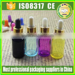 Essential Oil Use and Screen Printing Surface Handling glass bottle 10ml