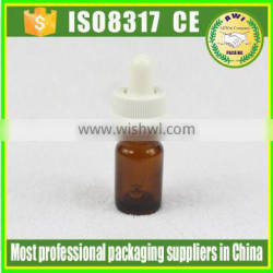 5ml new product amber glass dropper bottle glass bottle by Paypal payment