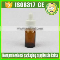10ml new product amber glass dropper bottle glass bottle by Paypal payment