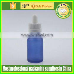 sprayed red e- liquid dropper bottle 0.5oz glass essential oil bottles with