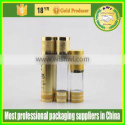 factory aluminum lotion pump airless cosmetic bottle cosmetic PP lotion bottles