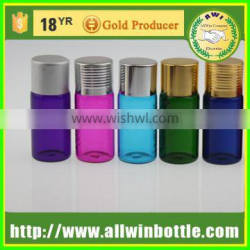 colorful 10ml penicillin bottle injection bottle with screw cap
