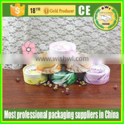 40mm paper cosmetic soft tube packaging with high quality cap