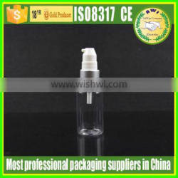Factory supply plastic PET lotion bottles with pump/sprayer