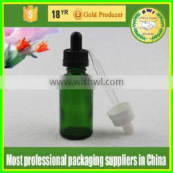 All sorts of color bottle glass 15ml 25ml 35ml glass drops bottles and child- proof caps with