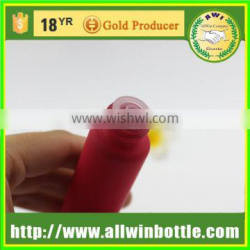 red 10ml penicillin bottle injection bottle with screw cap