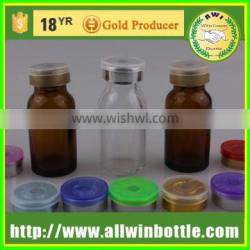 hot selling colorful penicillin bottle injection bottle with Screw cap