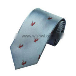 Customized Double-brushed Mens Jacquard Neckties Shirt Collar Accessories Printed