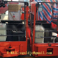 For Transportation Battery Powered Locomotive Tunnel Battery Operated