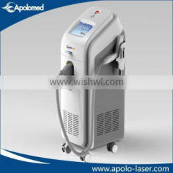 Floor standing medical q-switch nd yag laser tattoo removal machine