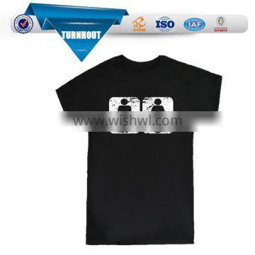 2016 NEW product 100 cotton mens t shirt custom printing logo t shirt