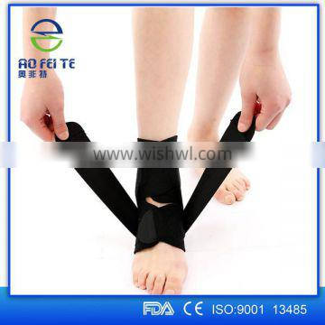 Adjustable Neoprene Ankle Support Strap Wrap Compression Brace One Size For All