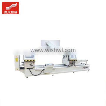 Twohead miter saw upvc plastic window and door welding machine profile profiles mullion cutting Fast delivery