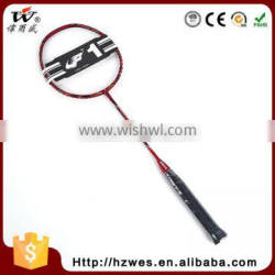 China Made Professional Super Durability Full Carbon Outdoor Sport Training Badminton Graphite Racquet