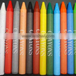12 Wax Crayons for Promotion