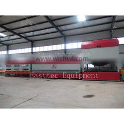 Easttec glass tempering machine with CE