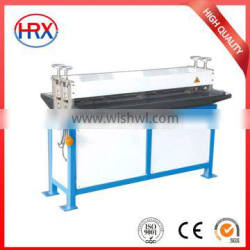 stainless sheet trimming beading machine for wind pipe