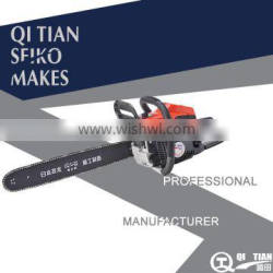 2015 Hot sale Professional Cheap 52cc petrol steel Chain Saw for sale