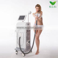 Portable Powerful High Quality 808nm Diode Laser Hair Removal Machine / Export Laser Machine Hair Removal 8.4 Inches