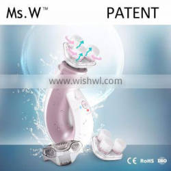Electric Face Brush With Usb Charge Cable and Safe Certification CE Rohs Certification for Beautiful Women
