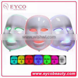 led light for face Facial Mask Skin Rejuvenation Beauty Wrinkle Acne Removal Skin Clean Brush