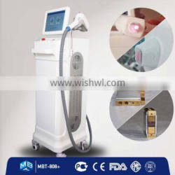 Professional painless freezing hair removal laser bar laser diode 808 for hair removal