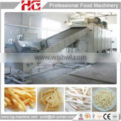 High capacity efficient French fries making machine