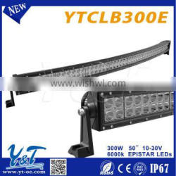 CE&Rohs&TUV Certificate 300w led driving light bars For off road vehicles such as trucks, SUVs, ATVs, UTVs, boats