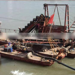 Haida customized bucket chain dredger for sand dredging with high performance