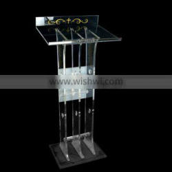 Cheap Custom Acrylic Pulpit made in China OEM Factory