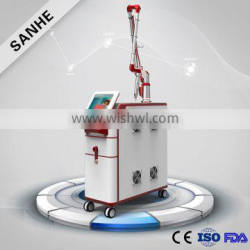 2016 Beijing Sanhe Beauty Best medical use Q-switched nd yag laser for tattoo removal