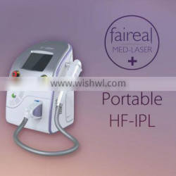 Wrinkle Removal Rf+Ipl Elight Machine Pigmentation Removal Acne Removal Hair Removal 2015 Most Popular Beauty Device Painless