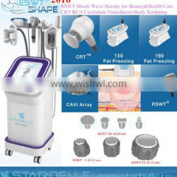 Shockwave Cavitation Slim RF Skin Rejuvenation With 5 Cavitation Weight Loss Machine In 1 Cavitation RF Machine Body Slimming Machine