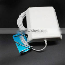 Hot Selling Indoor/Outdoor Directional 10dbi mobile phone gsm antenna 10m cable