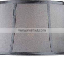 wholesale gray drum lamp shade light purple/white/beige color high quality