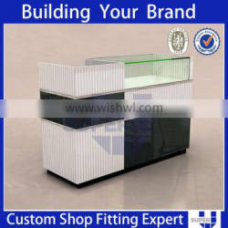 Retail shop functional MDF FRONT counter table reception table