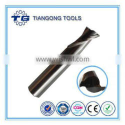 TG OEM HSS Carbide Conical End Mill For Aluminum