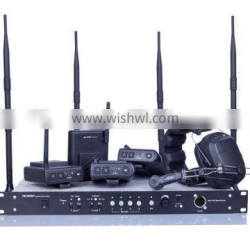 MDS-400 wireless intercom system for project command center