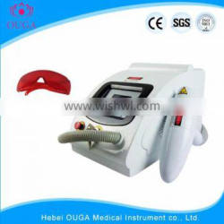 Q Switch Laser Tattoo Removal Machine Nd Yag Laser Black 1500mj Skin Hair Removal Machine